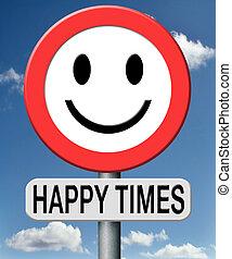 幸せ, 時