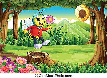 幸せ, 森林, 蜂