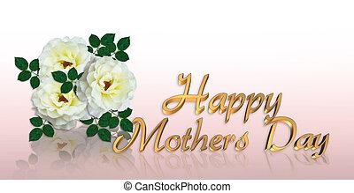 幸せ, 母の日, ばら