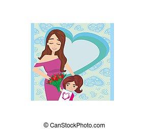 幸せ, 母の日, カード