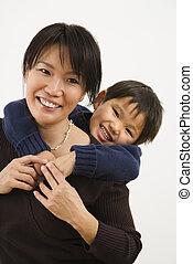 幸せ, 母, 息子