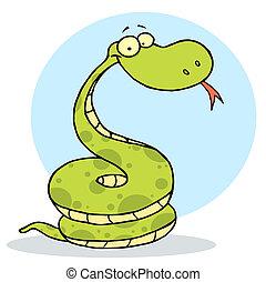 幸せ, 毒蛇, コイル状