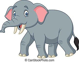 幸せ, 漫画, 象