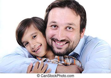 幸せ, 父, 息子