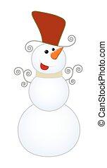 幸せ, 雪だるま