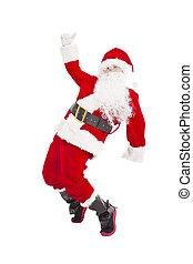 幸せ, claus, クリスマス, santa, ダンス