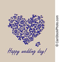 幸せ, day!, グリーティングカード, 結婚式