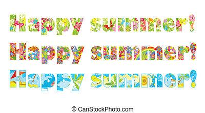 幸せ, summer!