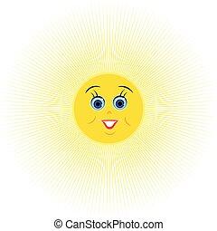 幸せ, sun.