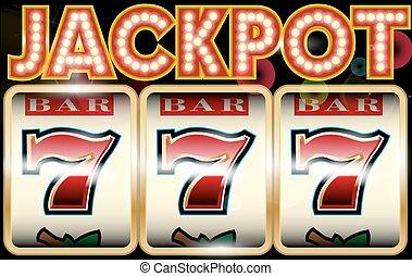 幸運な7, jackpot