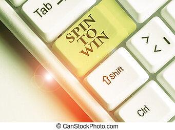 幸運, 単語, win., あなたの, テキスト, 執筆, ビジネス, ゲーム, 概念, カジノ, 宝くじ, risk., 運, 試み, ギャンブル, 回転