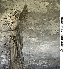 幻想, 婦女, 天使