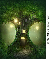 幻想, 樹房子