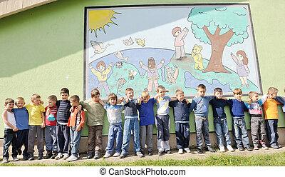 幼稚園, 子供