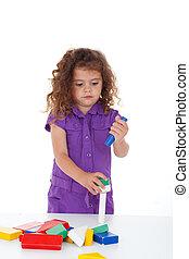 幼稚園, 遊び, 子供