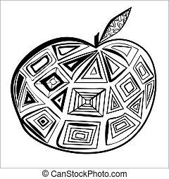 幾何学的, アップル