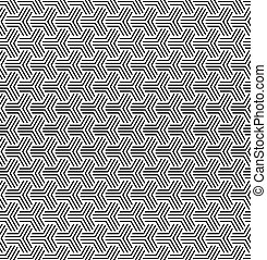 幾何学的, オペ, 芸術, texture., seamless