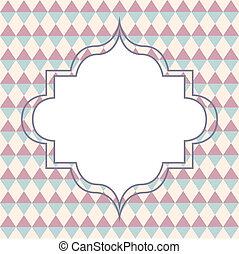 幾何学的, カード