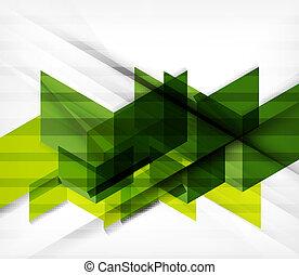 幾何学的, ブロック, 抽象的, 背景