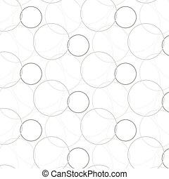 幾何学的, ベクトル, パターン, 背景