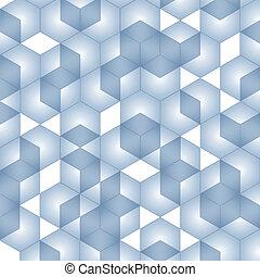 幾何学的, ベクトル, illustration., 等大