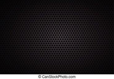 幾何学的, 多角形, 背景, 抽象的, 黒, 金属, 壁紙, ベクトル, イラスト