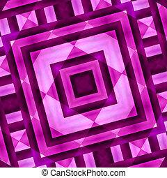 幾何学的, 抽象的