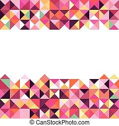 幾何学的, 抽象的, 背景