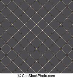 幾何学的, 現代, ベクトル, seamless, パターン