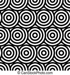 幾何学的, 現代, pattern., seamless, 手ざわり