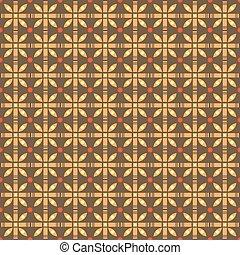 幾何学的, 現代, seamless, 背景 パターン
