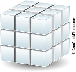 幾何学的, 立方体