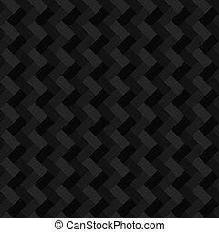 幾何学的, 長方形, 黒, seamless, 背景