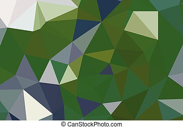 幾何学的, designs., 緑, 多色刷り, ベクトル, ライト, 背景