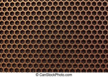 幾何学的, hi-tech, 手ざわり, ハチの巣