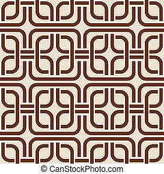 幾何学的, pattern., seamless