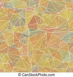 幾何学的, pattern., seamless, レトロ