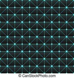 幾何学的, pattern., seamless, 未来派, cyberpunk