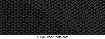 幾何学的, widescreen, pattern.