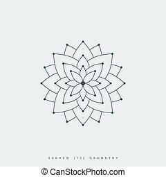 幾何学, 神聖