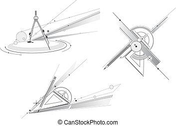 幾何学, 道具
