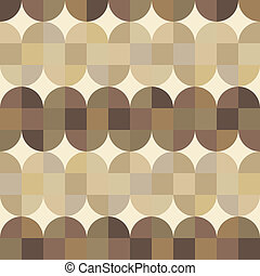 幾何學, seamless, 木頭, 席紡地面, pattern.