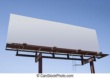 広告板, ブランク, 6