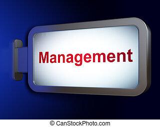 広告板, 管理, concept:, 背景, ビジネス