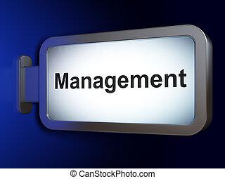 広告板, 管理, concept:, 金融, 背景