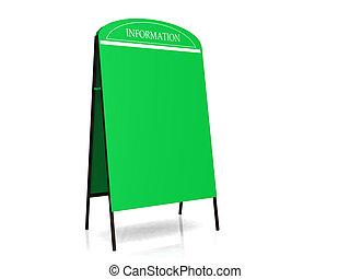 広告板, 緑
