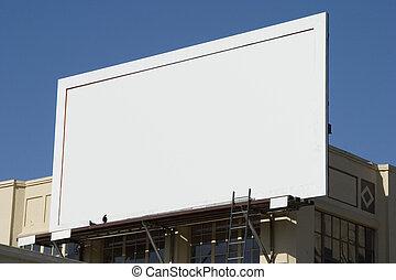 広告板, 4, ブランク