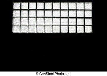 広場, ガラスブロック