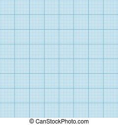 広場, グラフ, pattern., seamless, イラスト, ミリメートル, バックグラウンド。, ベクトル, ペーパー, grid.