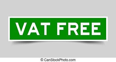 広場, 単語, (vector), 加えられた, 大桶, 背景, 灰色, tax), 緑, ラベル, (value, ...
